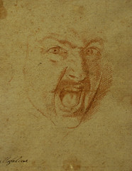 Aniello Falcone, Kopf eines schreienden Kriegers (Head of a screaming warrior)