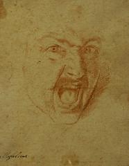 Aniello Falcone, Kopf eines schreienden Kriegers (Head of a screaming warrior)