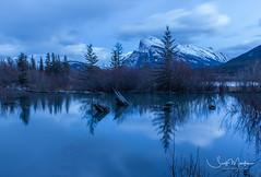 IMG_3698 (Scott Martin Calgary) Tags: banff alberta canada ca vermilionlakes reflections mountains