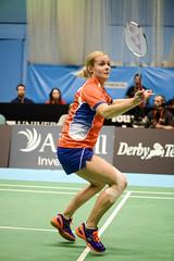 NBLmatch-5100-0378 (University of Derby) Tags: 5100 badminton nbl sportscentre universityofderby match