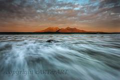 Laig Beach (cARTerART) Tags: isle eigg rum scotland beach dawn laig scottish