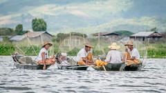 Taking a break (Channed) Tags: asia aziã« birma burma inlaylake inlelake myanmar fishermen azië shan myanmarbirma fisherman break boat water lake meer visser channedimages chantalnederstigt