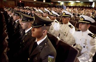 Graduación de la LXXXVIII promoción de Escuela Militar