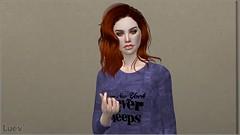 Crisseida (mertiuza) Tags: ts4 ls4 sim sims los 4 sims4 sim4 ea eagames game games maxis lossims thesims lossims4 thesims4 luev tarih tarihsims tarihsim ts mertiuza female woman girl mujer redhead pelirroja red orange hair