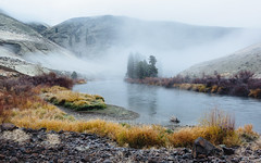 Listless (John Westrock) Tags: nature landscape fog foggy morning river yakimacanyon washington pacificnorthwest canoneos5dmarkiii canonef2470mmf28lusm