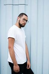 _CLE9116-Editar (Cleison Silva) Tags: boy modelo barba oculos indie azul sopaulo barueri urbano art retrato