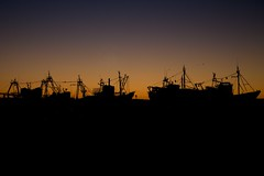 Ships That Pass In The Night (Ged Slaughter Photography) Tags: ships boats fishing essaouira coast morocco maroc twilight gedslaughter