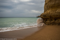 _DSC9865.jpg (Dave Simmonds) Tags: waves rock beach sand 2016 sea holiday portugal albufeira algarve