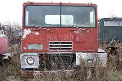 Get outta Dodge (cjb_photography) Tags: dodge junkyard mcleansautowreckers miltonon rust truck