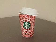 335/366 Crafted By Hand and Heart (Helen Orozco) Tags: 2016366 starbucks coffee christmas cup design art craftedbyhandandheart