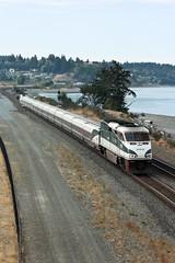 Amtrak Cascades (maritimeorca) Tags: amtrak amtrakcascades chamberscreekproperties electromotivediesel f59phi train vehicle