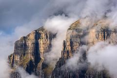 MIRADORES III (JUAN GALLART) Tags: espaa aragon huesca torla miradoresdeordesa pirineos nubes montaa paisaje