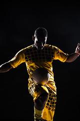 Em ao (alicemelofotografia) Tags: soccer football studio flash class color photography colors individuality expression sport ball