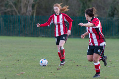 Altrincham LFC vs Stockport County LFC - December 2016-146 (MichaelRipleyPhotography) Tags: altrincham altrinchamfc altrinchamlfc altrinchamladies alty amateur ball community fans football footy header kick ladies ladiesfootball league merseyvalley nwrl nwrldivsion1south nonleague pass pitch referee robins shoot shot soccer stockportcountylfc stockportcountyladies supporters tackle team womensfootball
