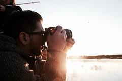 Fotografiando en el festival del globo