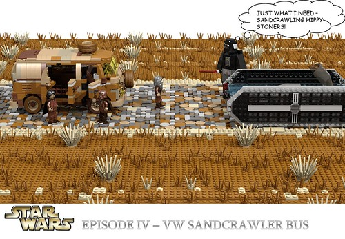 VW Sandcrawler Bus - Star Wars Episode IV