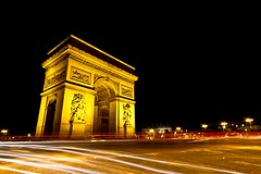Arc de Triomphe (. Marzo | Photography .) Tags: city paris france architecture night do cityscape arc triumph arcdetriomphe etoile nightfall cityview parisview parisnight triunfoarch nocturnearco