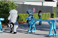 Stitch opens the gate for Meeko (disneylori) Tags: stitch princess jasmine disney disneyworld characters wdw liloandstitch waltdisneyworld meeko disneyprincess streetsofamerica hollywoodstudios facecharacters nonfacecharacters meetandgreetcharacters aladdincharacters pocahontascharacters liloandstitchcharacters disneychararacters