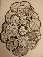 flickrbackground (JennerAllen) Tags: doodle zia zentangle tangledrawing