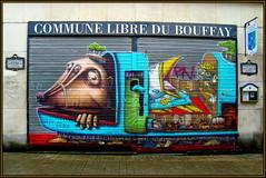 Commune Libre du Bouffay (Pifou 2010) Tags: street light streetart france art colors painting grafitti couleurs bretagne peinture lumiere multicolors rues nantes metalshutter rideaumetallique 2013 communelibredubouffay communelibre gerardbeaulieu pifou2010 freedistrict