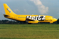 Ryanair | Boeing 737-200 | EI-CJC | Hertz livery | London Stansted (Dennis HKG) Tags: london plane airplane airport aircraft hertz boeing ryanair fr stansted 737 stn planespotting boeing737 737200 ryr egss boeing737200 eicjc