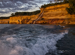 Pictured Rocks (kweaver2) Tags: cliff lake nature water rock photography michigan greatlakes upperpeninsula lakesuperior fineartphotography kathyweaver