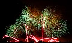 Globalfest Fireworks Finale (JesseJ.) Tags: longexposure canada calgary night canon lowlight fireworks finale 14x canonef28135mmf3556isusm globalfest canonextenderef14xii 2013 canon40d globalfestfireworkscompetition