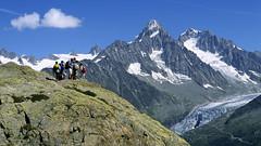 Massif du Mont-Blanc, glacier d'Argentière (Ytierny) Tags: france montagne alpes altitude glacier balcon montblanc verte alpinisme massif hautesavoie aiguille randonneur argentière chardonnet drus ytierny