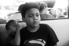 Whispers In You Ear (espressoDOM) Tags: bw blackwhite dj superman dash dccomics boyslife kiddo2 meuswe mykiddos djdash kiddo1
