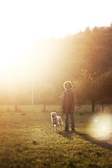 A chapter can be a book. [+2] (HELYphotography) Tags: life light boy sunset wild italy dog nature beautiful goldenretriever golden hill memories longhair curls adventure tuscany flare teenager curlyhair goldenhour parka canonef50mm18 canoneos1000d