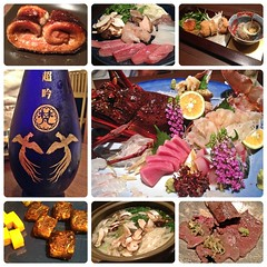 (Danburg Murmur) Tags: flowers japan geotagged mushrooms soup mosaic beef sashimi egg bowl kobe lobster  nippon lime eel wasabi scallions nihon tamago sak      kbe nihonkoku nipponkoku   kbebeef geo:lat=346972023 geo:lon=13519155260000002  flickr10109939916