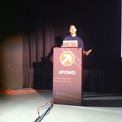 Listening to @Khoi at #fowd