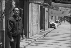 Shanghai上海1994 part5 Renmin Road 人民路-88 (8hai - photography) Tags: road shanghai yang ren 上海 1994 bahai hui min renmin part5 人民路 yanghui shanghai上海1994