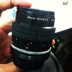 ในที่สุดก็ได้รับเลนส์ #macro #micro มือสองของ #nikon #nikkor มาใช้ในราคา 4,600THB.