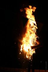 Flaming Skull (Kamal50) Tags: halloween skull flame trinidad caribbean rama rawana openairtheatre ramleela indiandiaspora