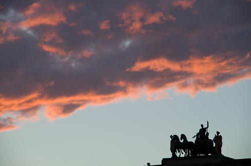 Sunset on the Carousel - Paris