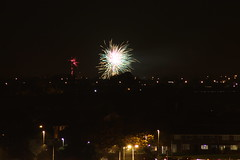 Bonfire night (thecrookedfoo) Tags: november home liverpool fireworks bonfire 5th kirkby