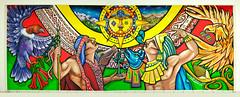 Pueblos Originarios / México (ecos.) Tags: coyote sol graffiti stencil mural arte ramona condor popular parra pueblos colectivo albornoz ecos patricio mapuche publico latinoamericano lautaro muralismo iconografia brigada araucania originarios nezahualcoyotl cosmovision