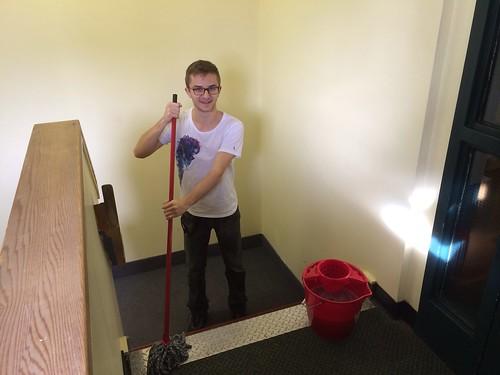 Housekeeper Julian