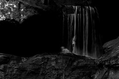 Narnia (cbradley3579) Tags: life shadow summer white inspiration playing black water childhood kids canon dead fun flow sadness living waterfall blog exposure waves child sad awesome balckandwhite narnia t3i summerlife