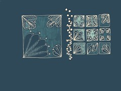 Arabic tiles (matteotarenghi) Tags: blue illustration tile relax drawing arabic astratto disegni illustrazioni astract pentangle tarenghi zentangle tumblr