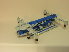 Classic Space Cargo Carrier (15) (origamiguy1971) Tags: classic ship lego space spaceship neoclassic moc esseltine origamiguy origamiguy1971