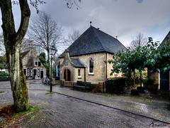 Hervormde kerk van Nes Ameland (PortSite) Tags: holland church netherlands waddeneiland nikon nederland ameland nes église paysbas kerk hdr friesland architectuur portsite 2013 d3s
