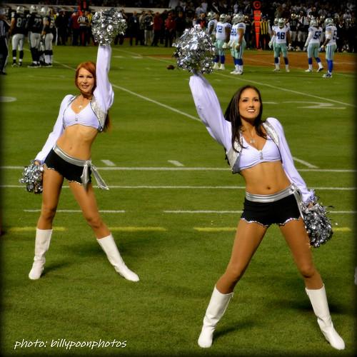 2013 Oakland Raiderettes Wendy & Bess