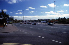 Belfast - East Bank: roadscape
