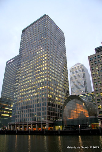 Canary Wharf view from West Key