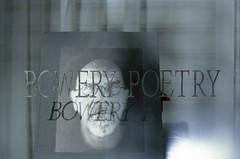 Bowery Poetry (bortx_) Tags: nyc newyorkcity light newyork canon poetry village kodak east reflejo bowery analogue leak portra reflexion analgico 160 at1