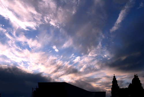 Big sky over Liverpool