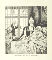 """Image taken from page 14 of 'The Cap becomes a Coronet. A downstairs romance. A.D. 19- ... With illustrations by """"Crow.""""'"""
