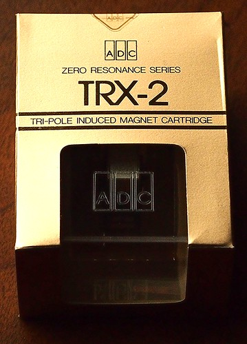 ADC TRX-2 Cartridge, Zero Resonance Series, 3-Pole Induced Magnet Cartridge, NOS, 1984